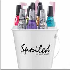 nail polish bucket