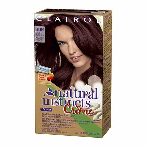 "This is the actual color I bought.  It looks a little ""extreme"" on the areas of my hair with natural highlights."